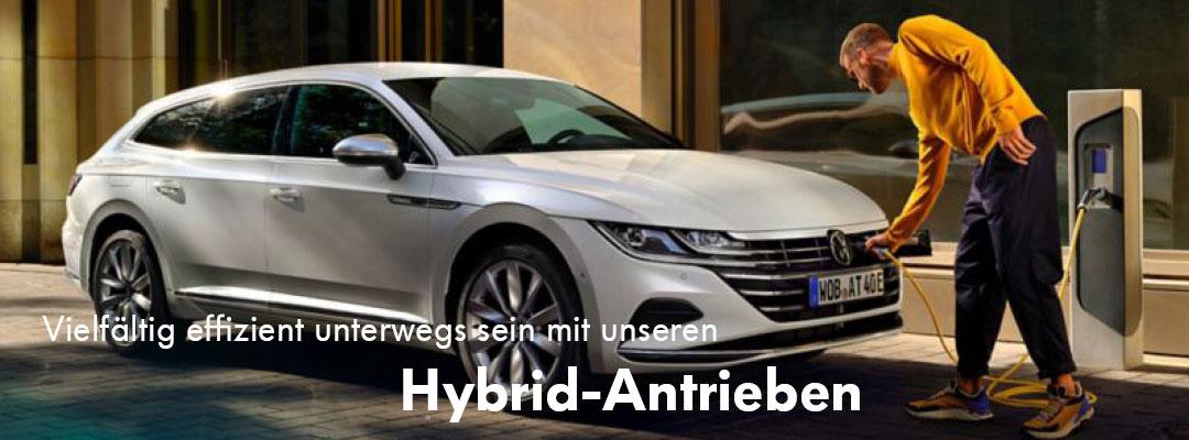 Unsere Hybridantriebe