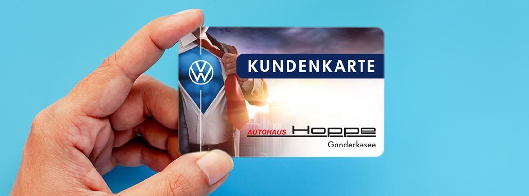 Die Kundenkarte von Hoppe